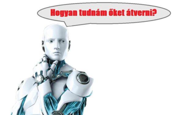 Kedves mohini robot károsult!